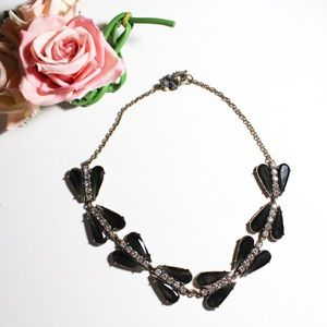 J. Crew Industrial Look Statement Necklace